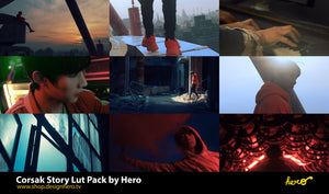 Corsak Story ep2. LUT Pack by Hero. - shop.designhero