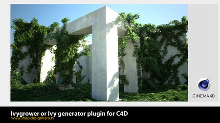 Ivy generator or Ivygrower plugin for C4D. - Design Hero