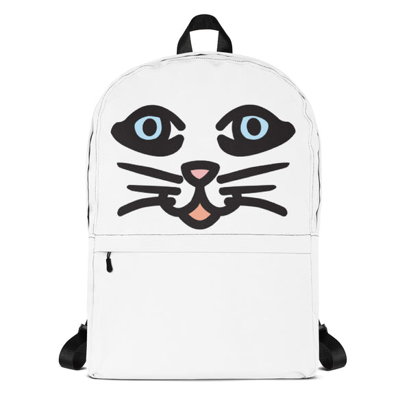 """Cat Eyes"" Backpack design by Hero. - shop.designhero"