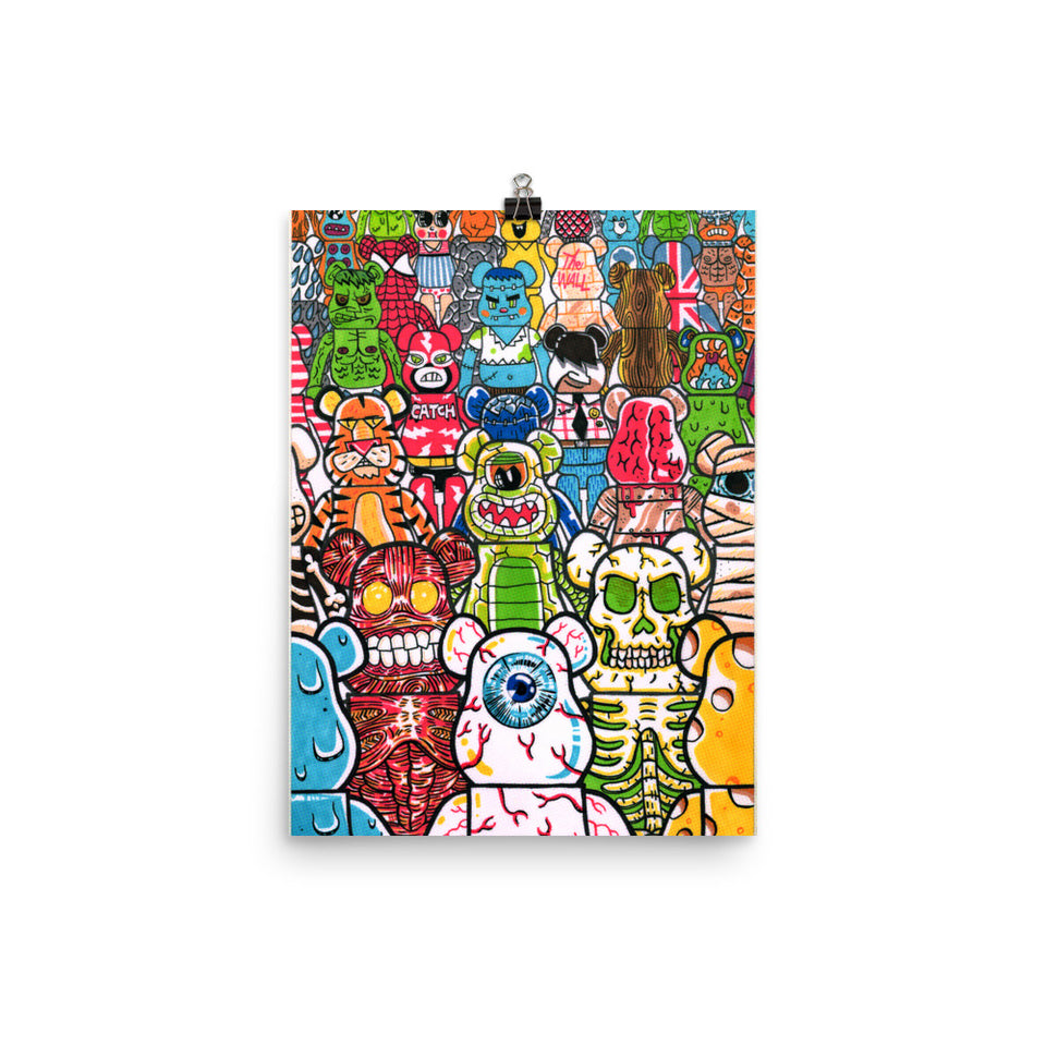 """ToyZ"" Poster design by Hero. - shop.designhero"