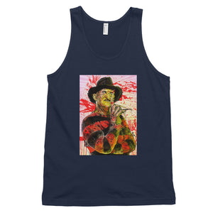 """Freddy"" Classic tank top (unisex) by Hero - shop.designhero"