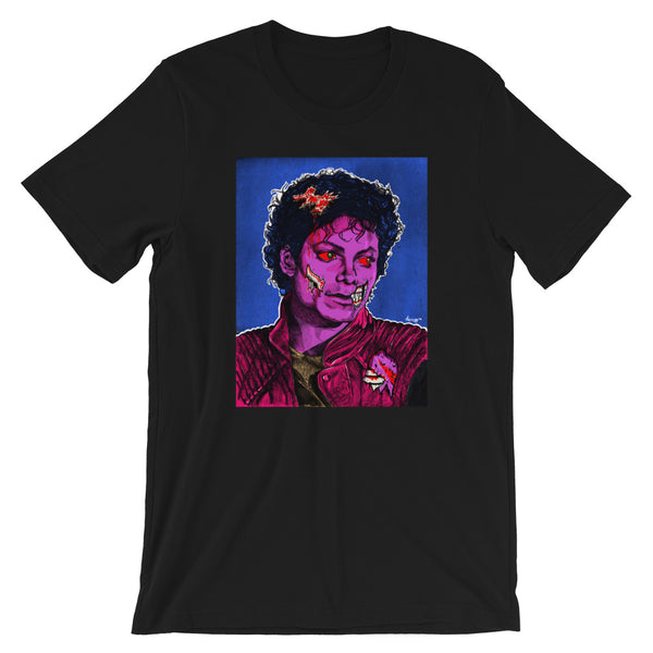 """Thriller"" Short-Sleeve Unisex T-Shirt. - shop.designhero"