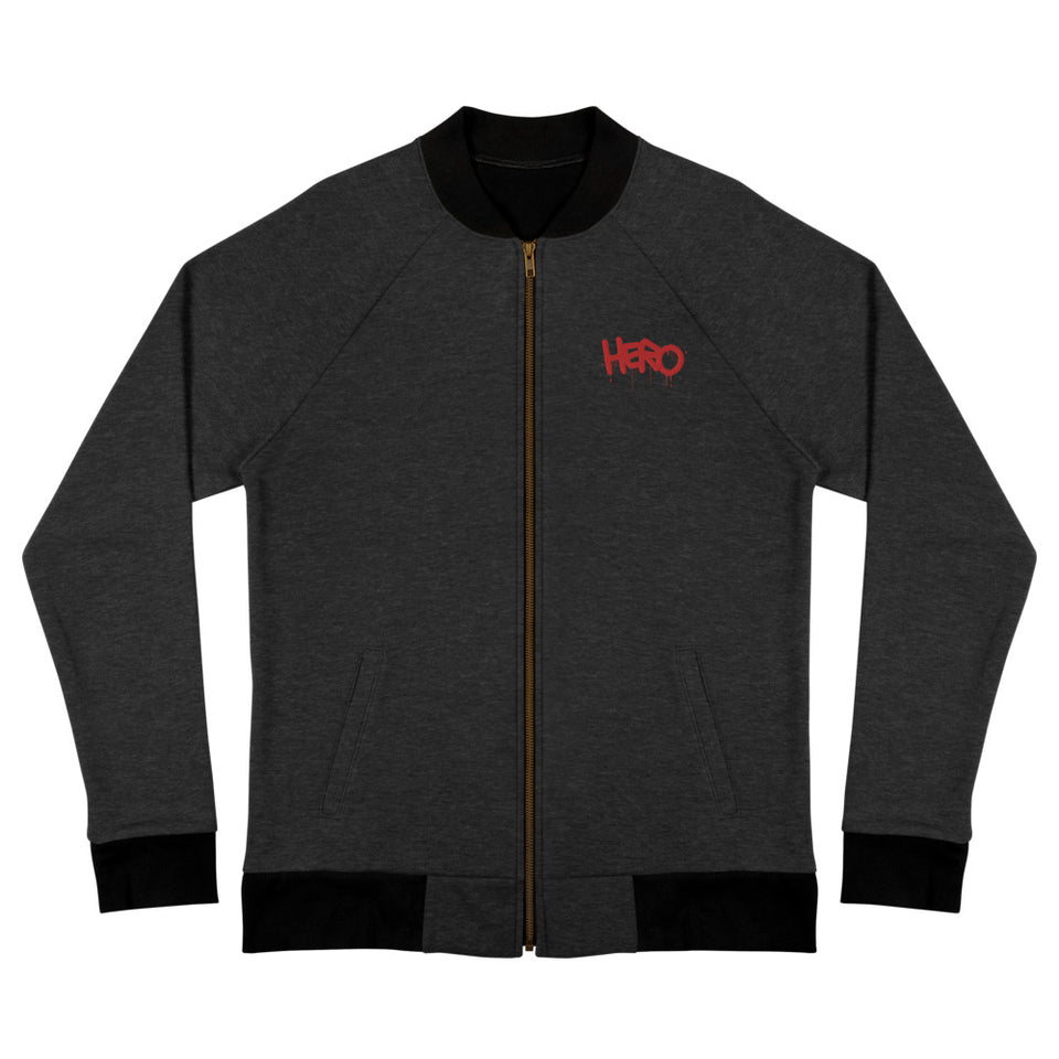 """Hero"" Bomber Jacket - shop.designhero"