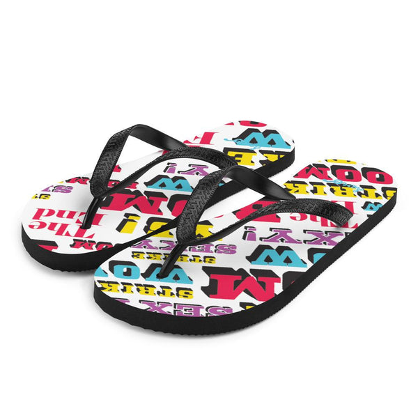 """Bowling"" Flip-Flops design by Hero. - shop.designhero"