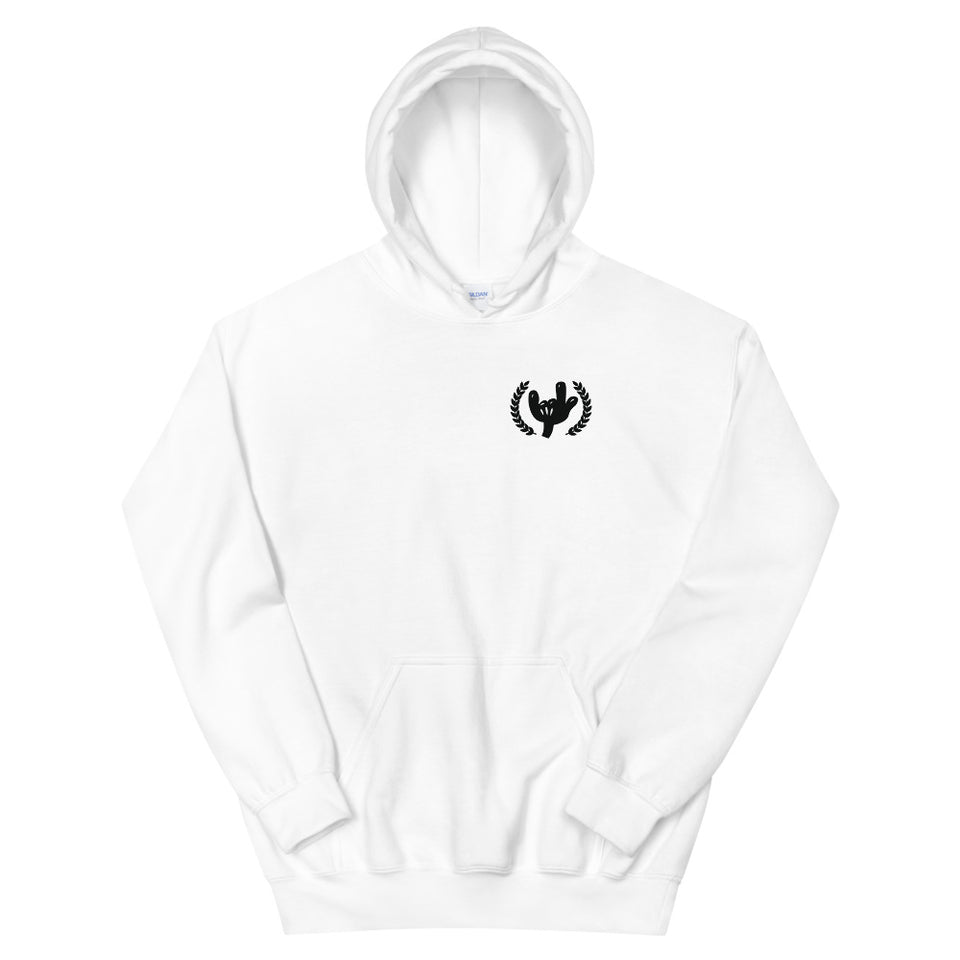 """Frack"" Hooded Sweatshirt, design by Hero. - shop.designhero"