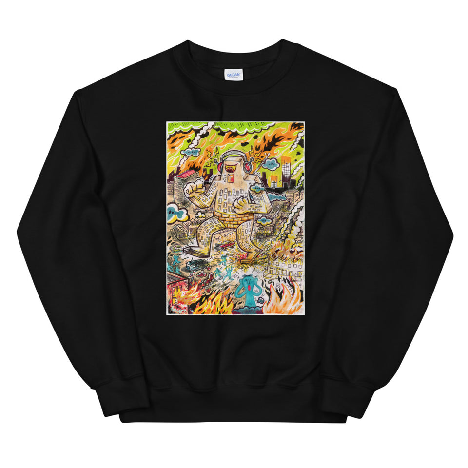 """Rock The Town"" Unisex Sweatshirt - shop.designhero"