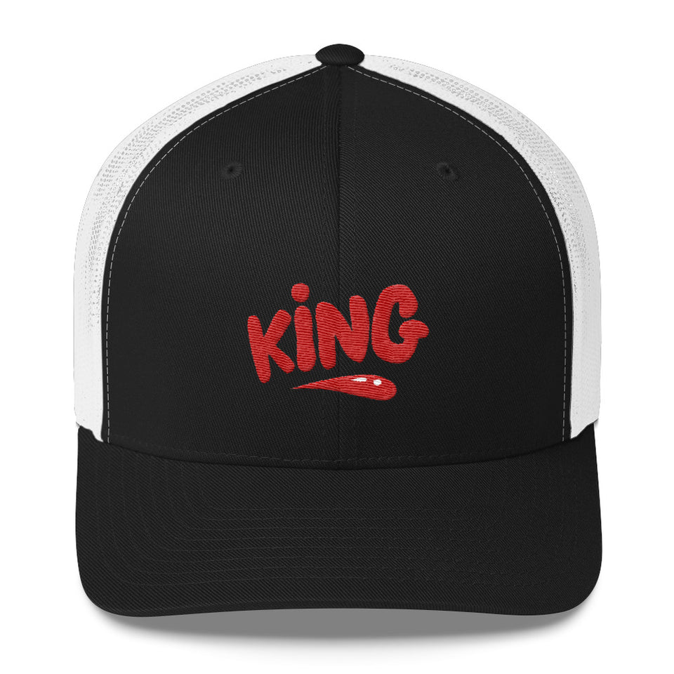 """King"" Trucker Cap design by Hero. - shop.designhero"