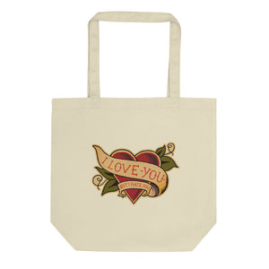"""I Love You But I Hate You"" Eco Tote Bag - shop.designhero"