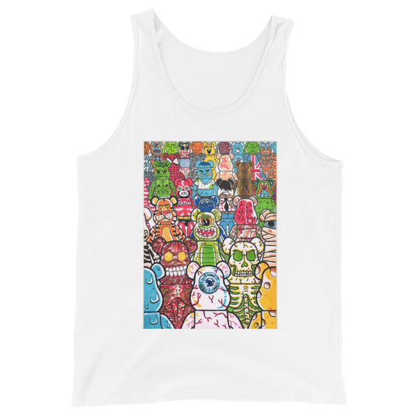"""ToyZ"" Unisex Tank Top design by Hero. - shop.designhero"