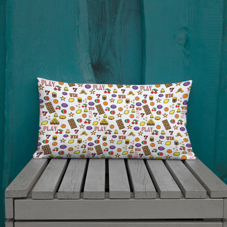 """Casino"" Premium Pillow design by Hero - shop.designhero"