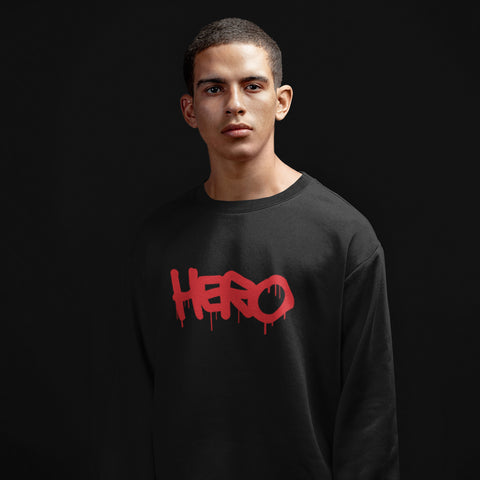 Hero Sweatshirt design by Hero