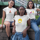 """Movie Night?"" Short-Sleeve Emoji Unisex T-Shirt - shop.designhero"