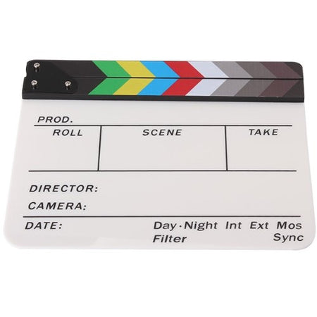 Acrylic Scene Clapperboard - Design Hero