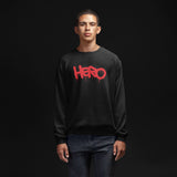 """Hero"" Unisex Sweatshirt design by Hero. - shop.designhero"