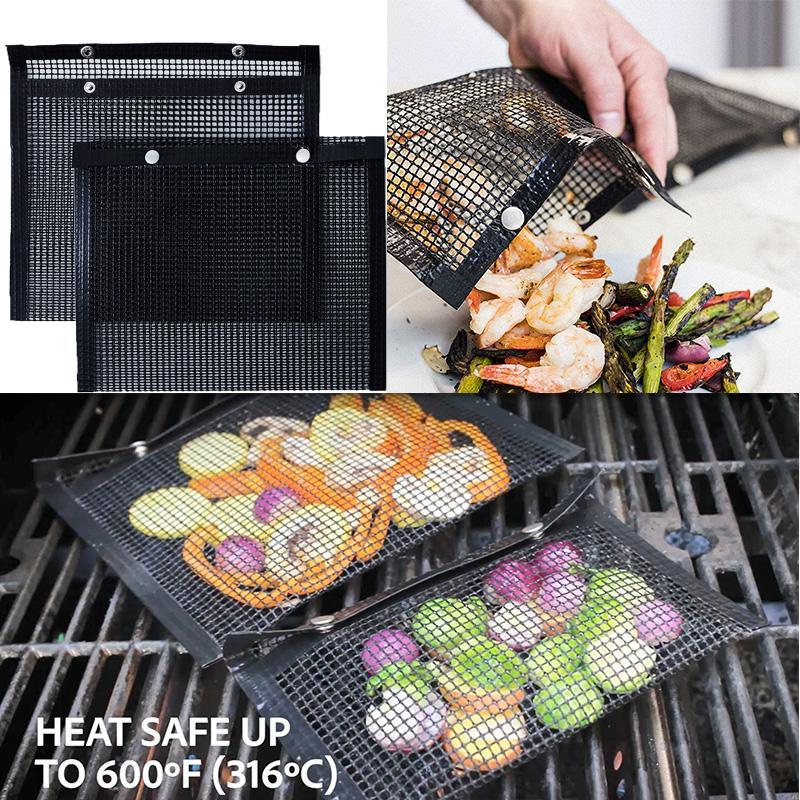 Hot Non-Stick Mesh BBQ & Bake Bag NEW