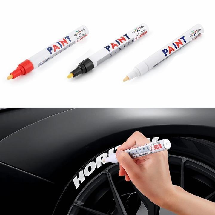 (Hot selling 50,00 items )【60% OFF】-Waterproof, Non-Fading Tire Paint Pen