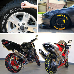 (60% OFF ONLY TODAY)Waterproof, Non-Fading Tire Paint Pen