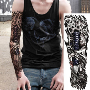 Waterproof Temporary Sleeve Arm Tattoo(QB-008)