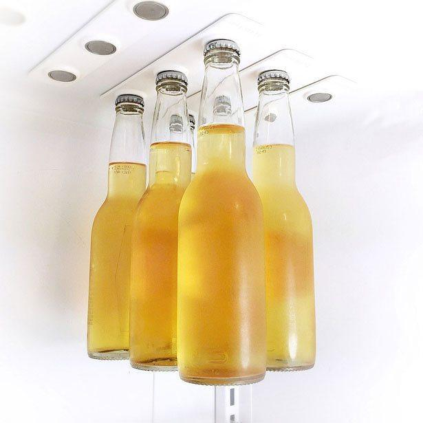 Fridge Magnet Beer Bottle Hanger (Pair)