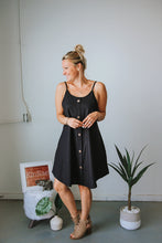 Load image into Gallery viewer, Black Cami Dress