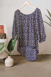 Blue Poppy Shoulders