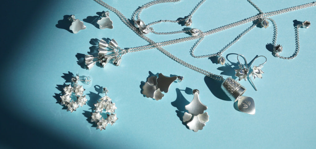 Collection of Sterling Silver Jewellery by Brave Edith