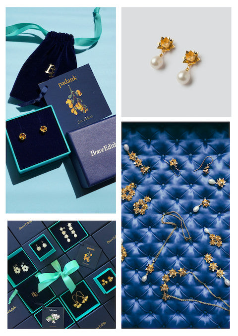 Rage of Brave Edith jewellery and packaging