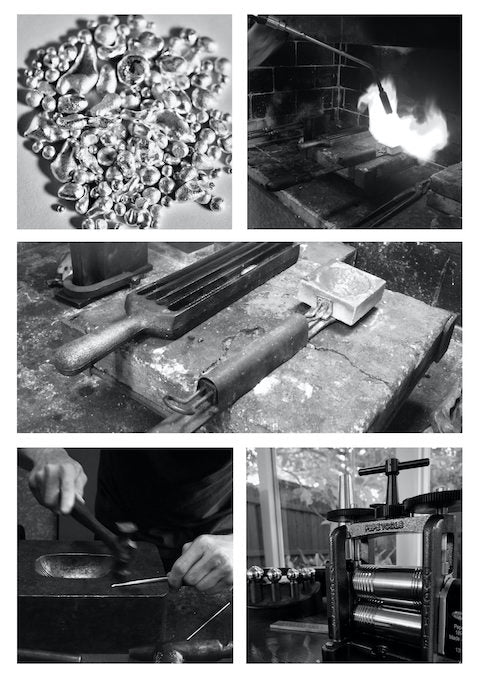 Sterling Silver alloy making images
