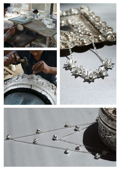 Brave Edith jewellery and artisans in Burma