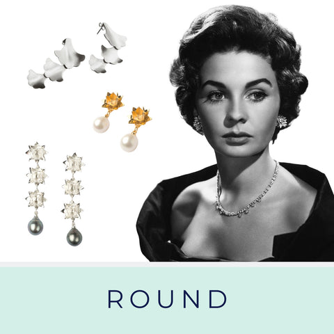 Jean Simmons and Brave Edith earrings