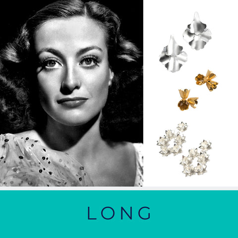 Joan Crawford and Brave Edith earrings