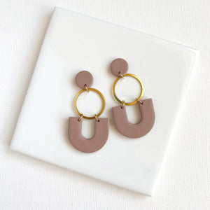 Dangle Clay Earrings