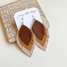 Load image into Gallery viewer, Lightweight statement earrings with a boho chic flair