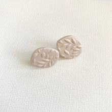 Load image into Gallery viewer, Organic Shape Clay Stud Earring Set