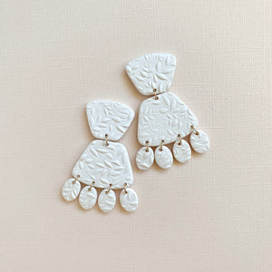 IVY Polymer Clay Bridal Earrings