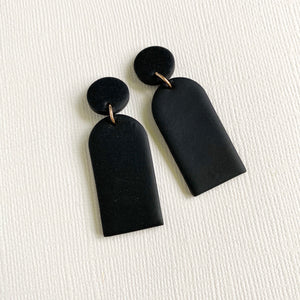 MINI CLOSED ARCH Polymer Clay Earrings