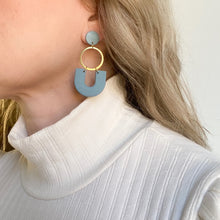 Load image into Gallery viewer, Dangle Clay Earrings
