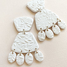 Load image into Gallery viewer, IVY Polymer Clay Bridal Earrings