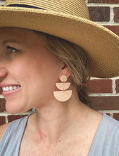 Load image into Gallery viewer, ANGIE Cornflower Stone Polymer Clay Earrings