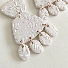 Load image into Gallery viewer, Clay Bridal Earrings | IVY
