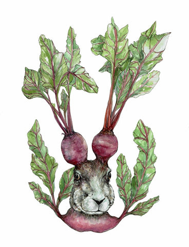 """Beet it"" Fine Art Print 21x30cm"
