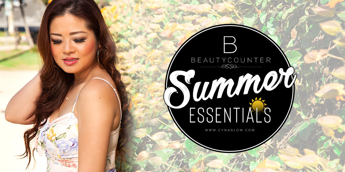 Beautycounter's Beauty Summer Essentials