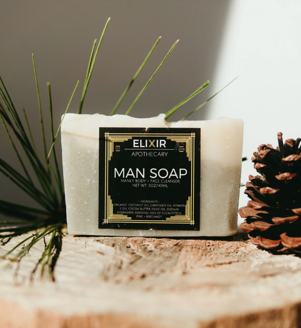 Natural Man Soap - Cynaglow