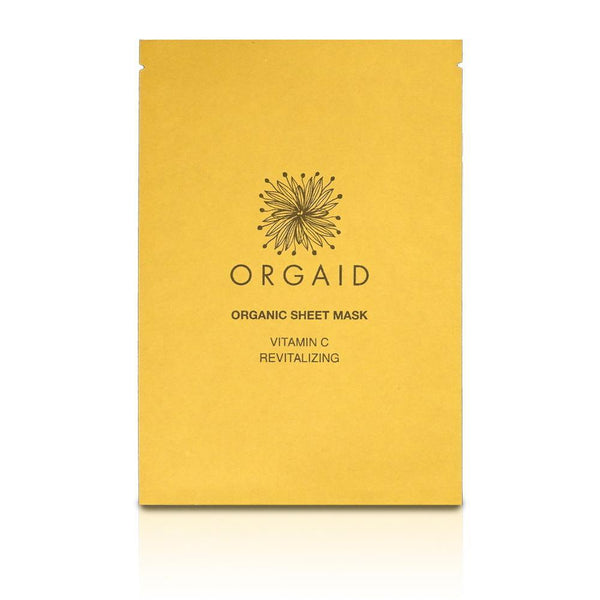 Organic Sheet Mask | Vitamin C and Revitalizing - Cynaglow