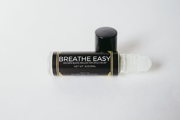 Breathe Easy Essential Oil Roller - Cynaglow