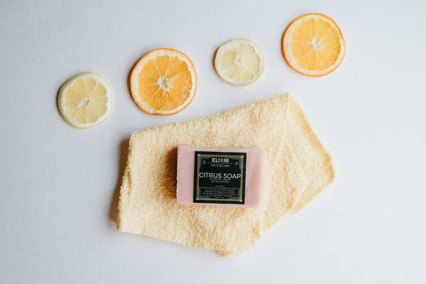 Natural Citrus Soap - Cynaglow