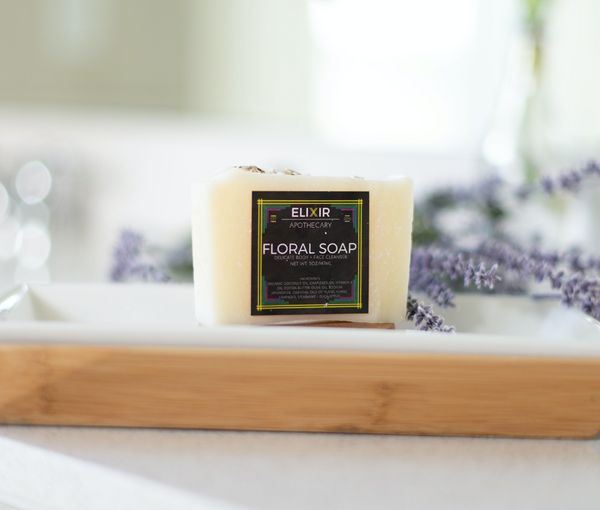 Natural Floral Soap - Cynaglow