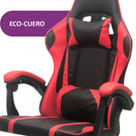 Silla Gamer Pro Basculante Regulable Con Ruedas