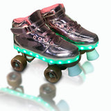 Patines 4 ruedas luces led talle 32  zapatilla con luces led estilo urbano