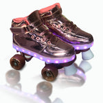 Patines 4 ruedas luces led talle 30  zapatilla con luces led estilo urbano